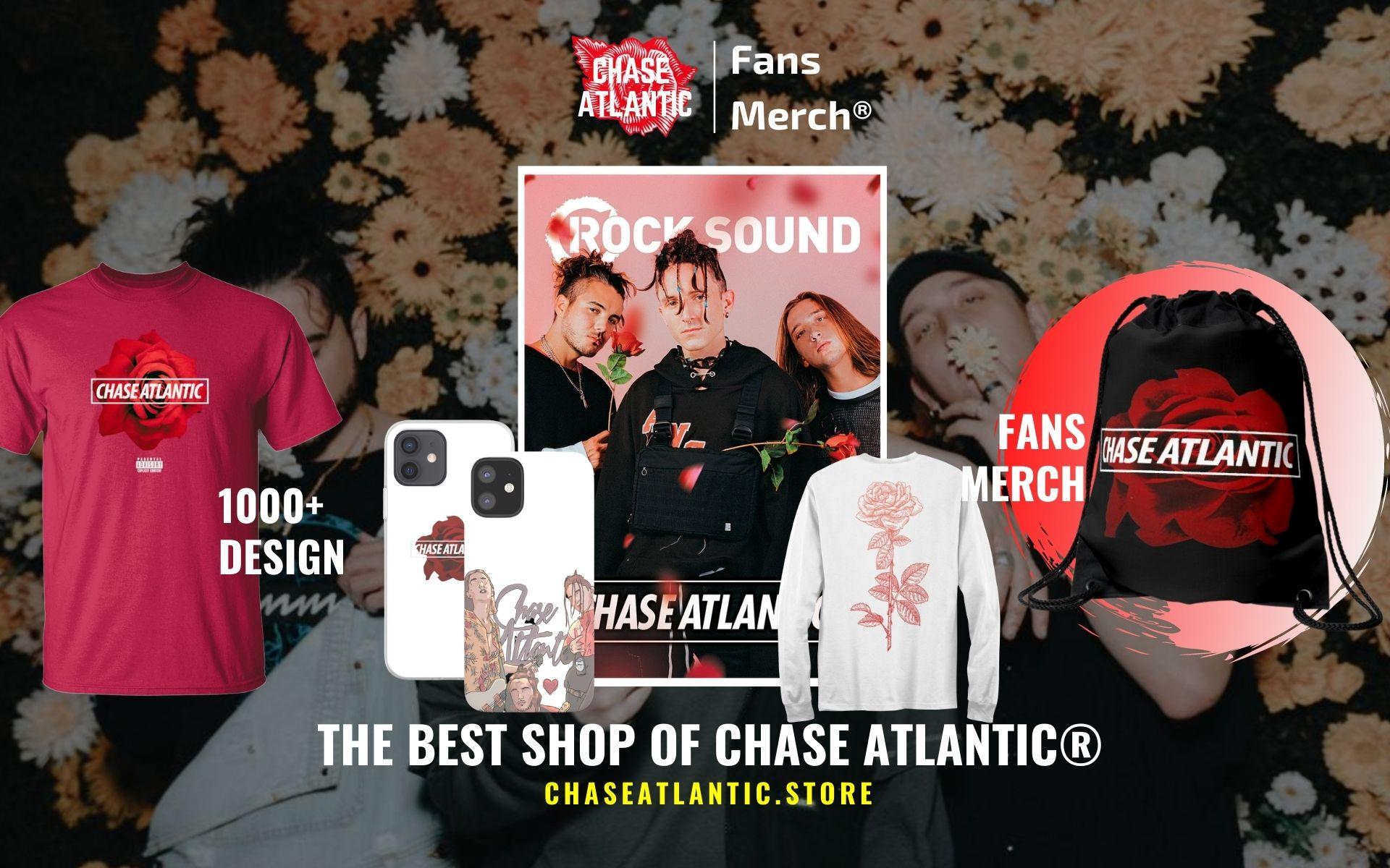 Chase Atlantic Merch Web Banner - Chase Atlantic Store